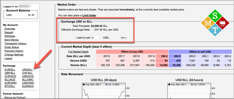 exchange-usd-to-sll