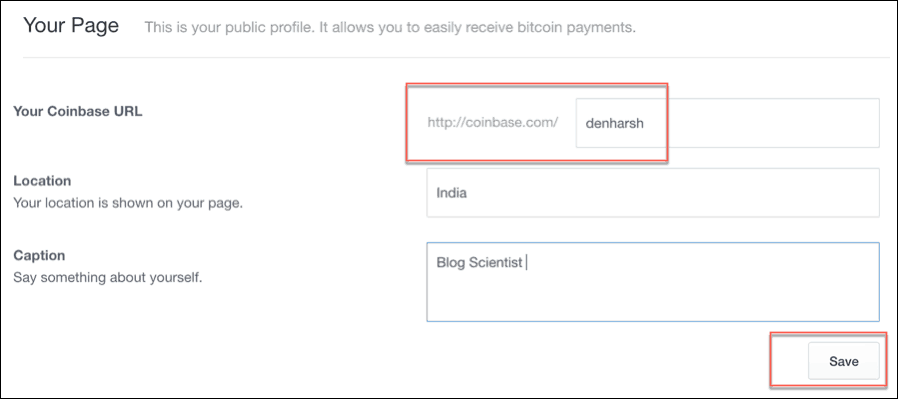personalized-coinbase-profile-page