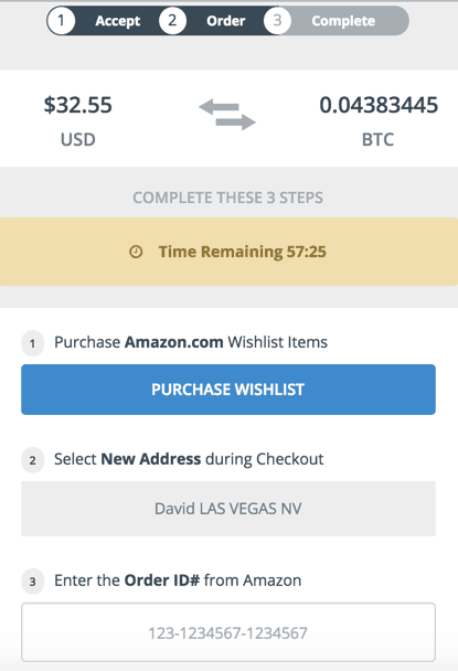 How to Trade in Amazon Gift Cards for Bitcoins - Instantly