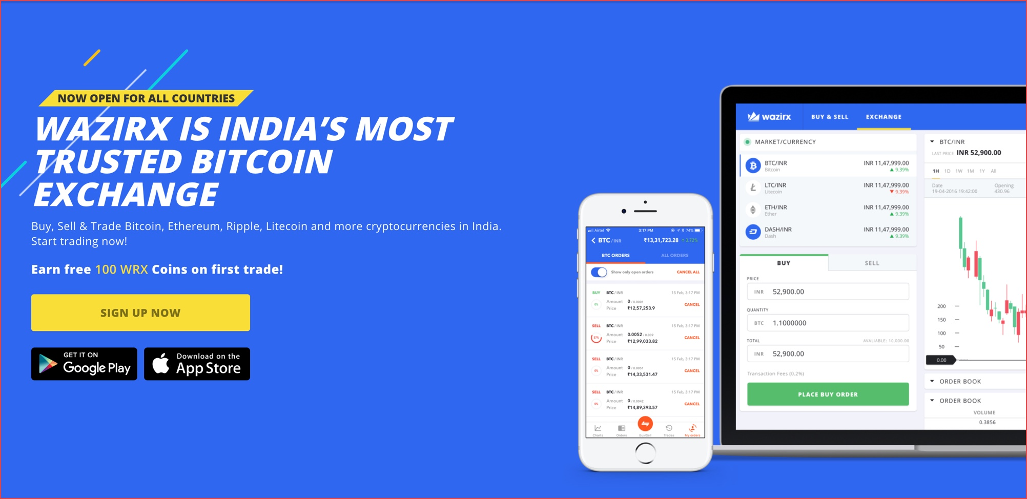 top websites to buy cryptocurrency in india