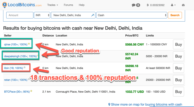 How to buy bitcoins with cash in any country tested methods localbitcoins ccuart Choice Image