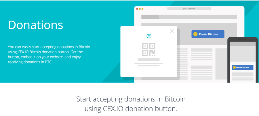 Create A Bitcoin Donation Button