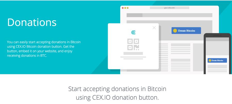 Create A Bitcoin Donation Button