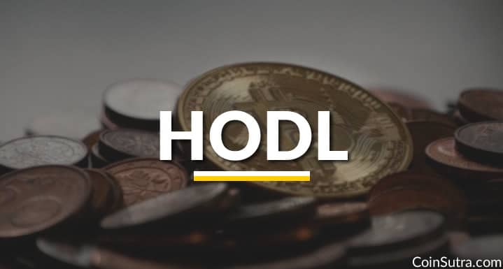 HODL in the Cryptocurrency World