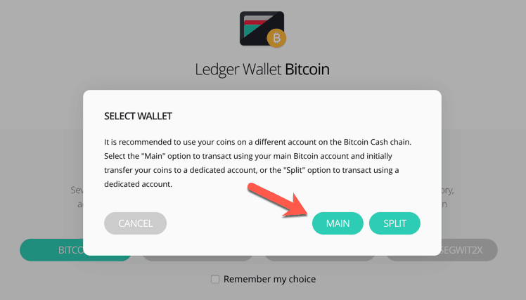 how to send altcoins to ledger nano s