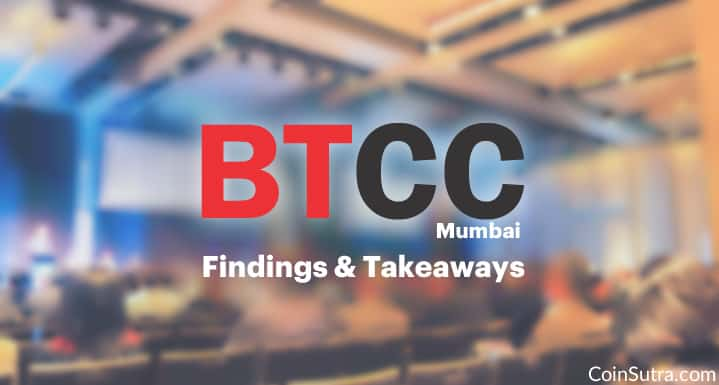 This Is What Happened At The BTCC Conference In Mumbai (10th August 2017)