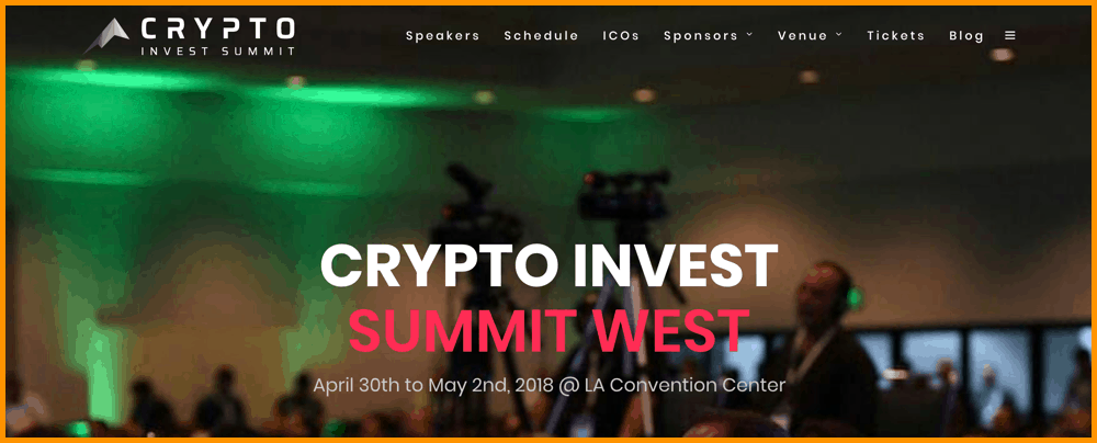 Crypto Invest Summit West