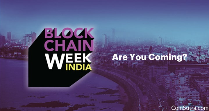 Are You Coming! Stage Is Set For India Blockchain Week 2017