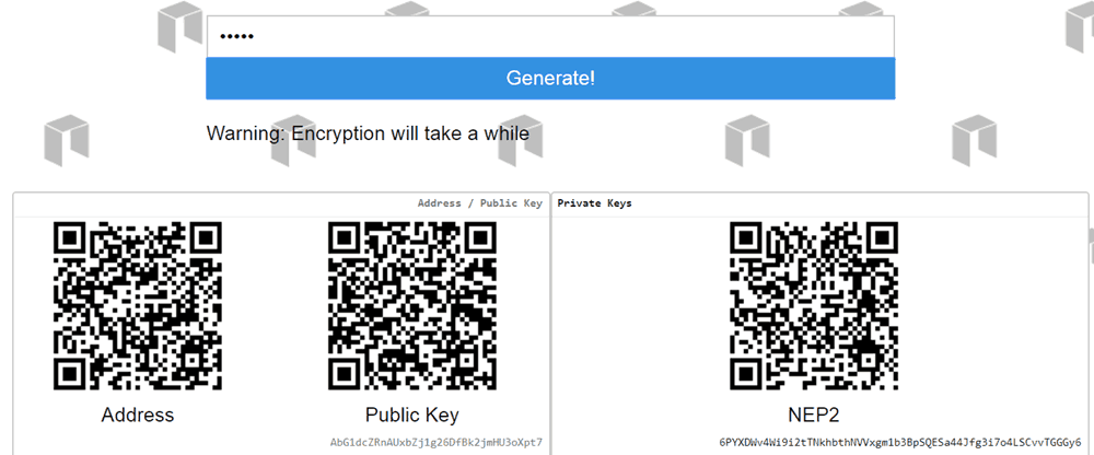 Ansy (Paper Wallet)