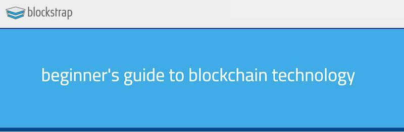 Beginner's Guide To Blockchain Technology