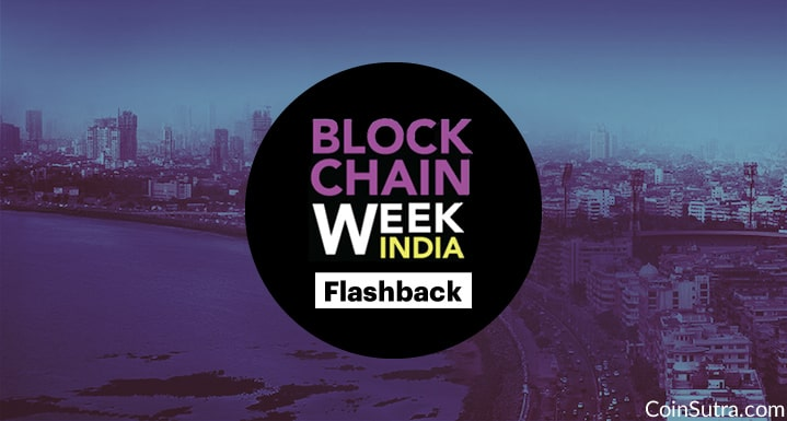 Flashback of India Blockchain Week 2017