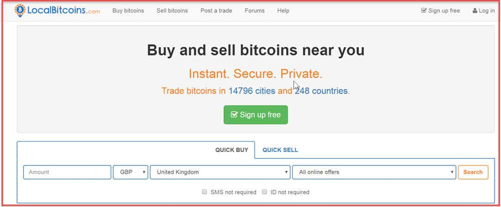 Buy bitcoins uk sms free
