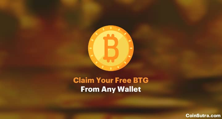 Claim Your Free BTG From Any Wallet