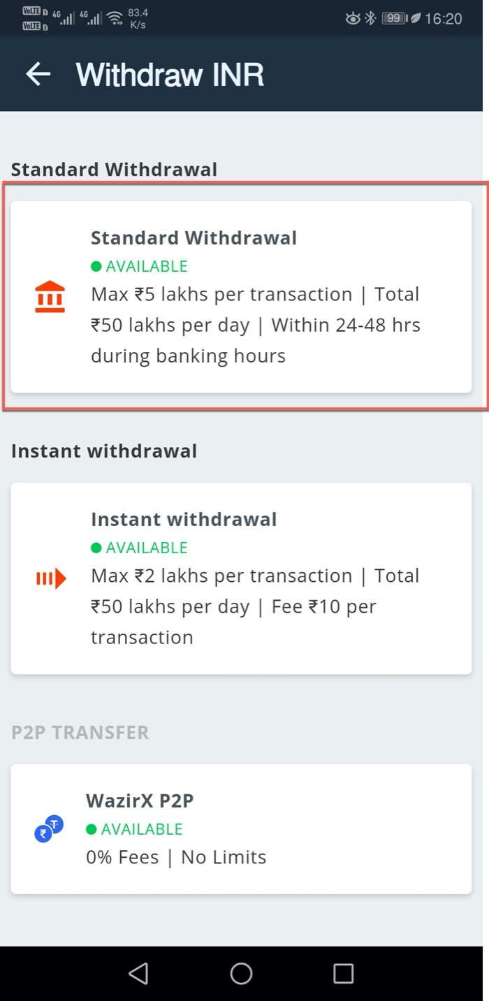 How to Sell bitcoin India