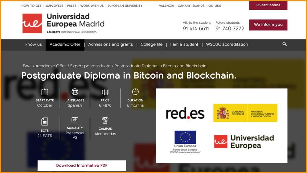 5 Universities Offering Blockchain Courses