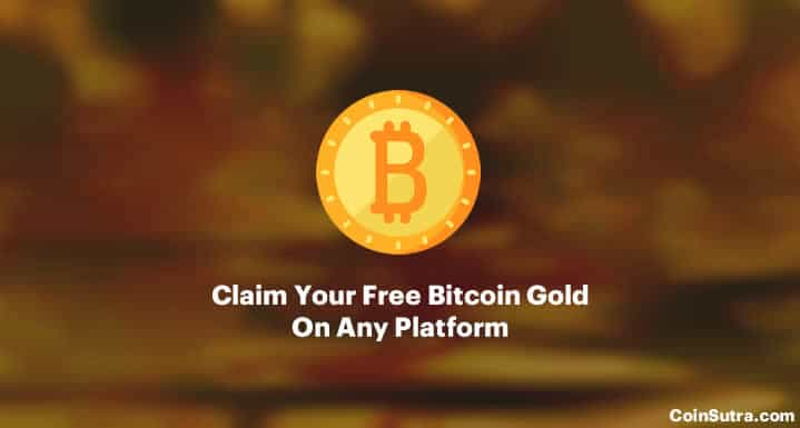 How to claim your free bitcoin gold on any platform ccuart Gallery