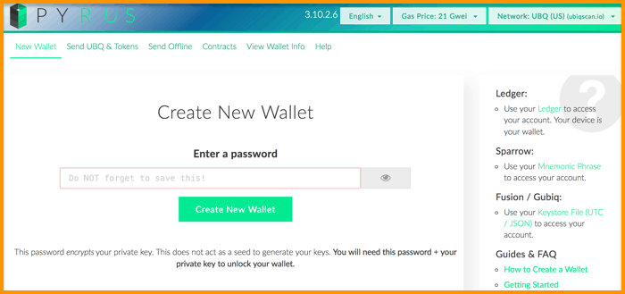 Pyrus-Wallet