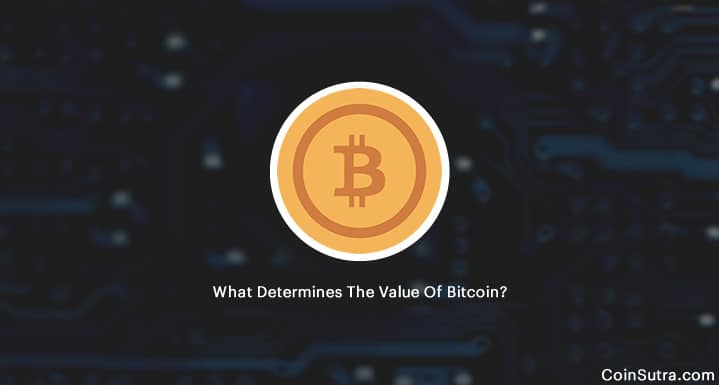 What Determines The Value Of Bitcoin