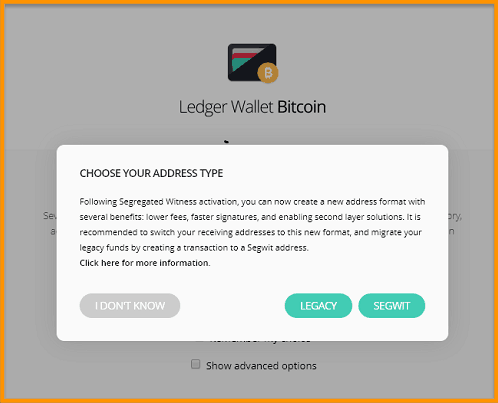 Ledger-Segwit-Addresses