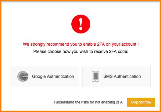 google-authentication-binance