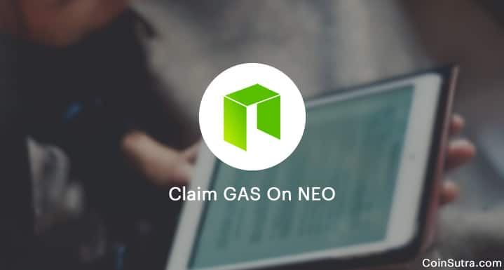 Claim GAS On NEO