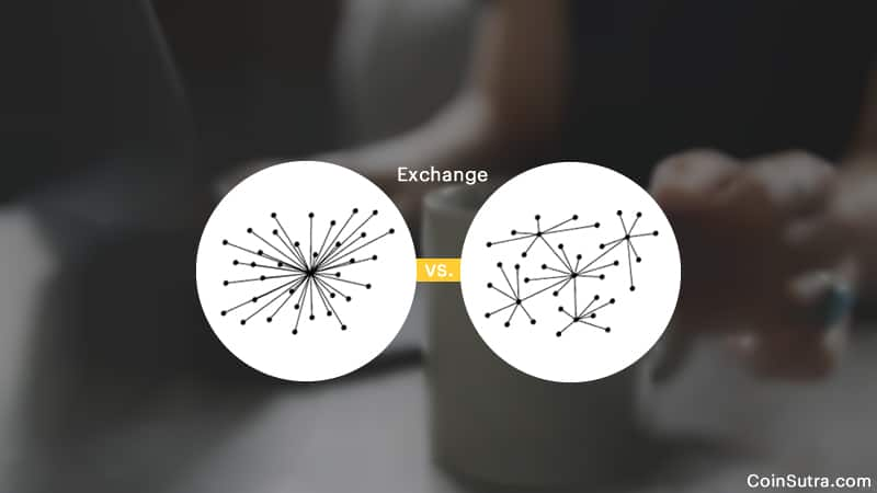 Decentralized Crypto Exchages vs Centralized Exchange