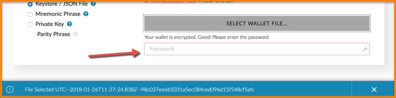Enter-Password-MEW