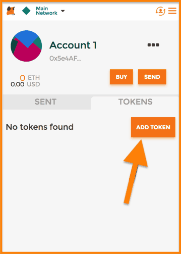 MetaMask-Tokens