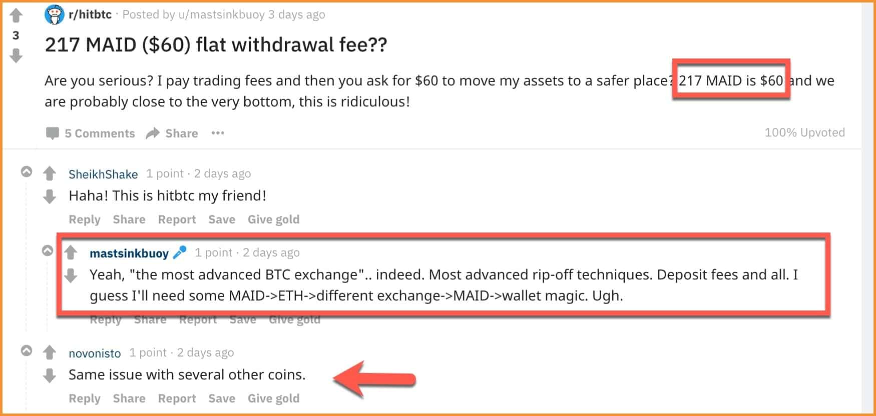 HitBTC-high-Withdrawal-fees