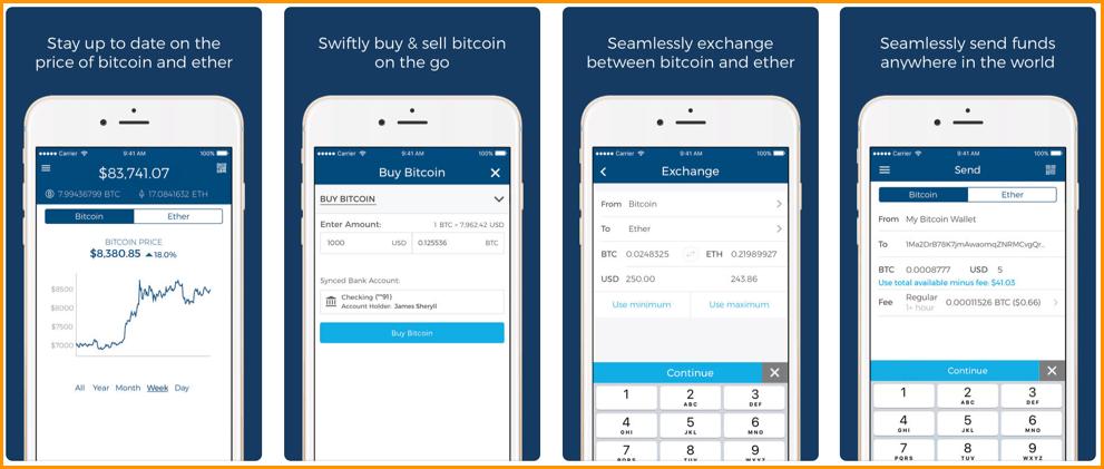 Blockchain iPhone Bitcoin Wallet
