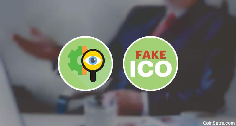 Detect Fake ICO - Initial Coin Offerings