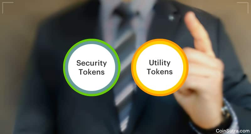 Difference Between Security Tokens & Utility Tokens