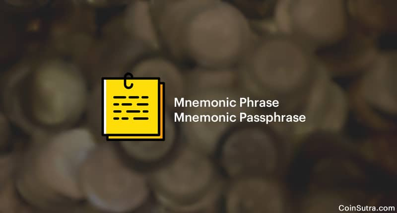 What Is Mnemonic Phrase & Mnemonic Passphrase?