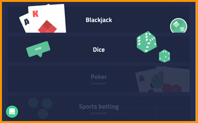 Edgeless betting games