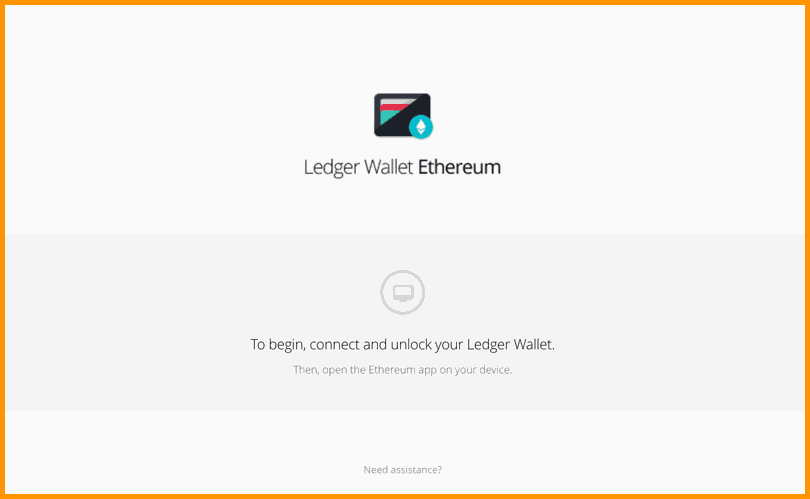 Transfering Ethereum To A Ledger Nano S