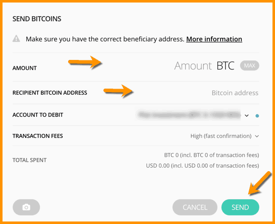 Send Bitcoin From Ledger Nano S