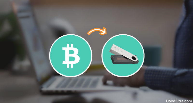 Here Is How You Can Transfer Bitcoins To A Ledger Nano S