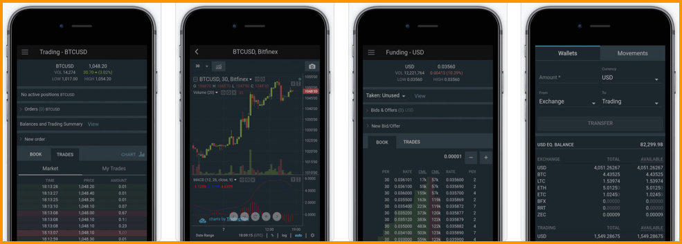 Bitfinex Mobile Apps