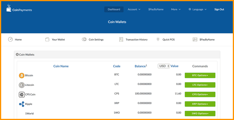 How To Use CoinPayments