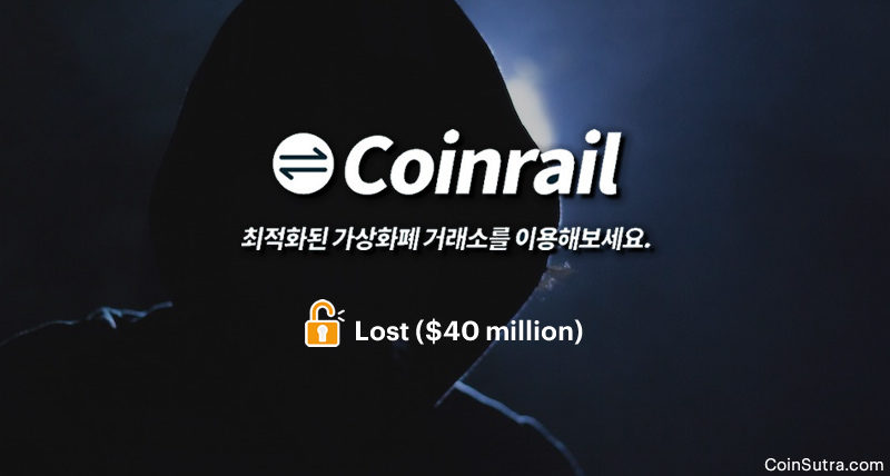 South Korean Crypto Exchange Coinrail Gets Hacked, Loses $40 million