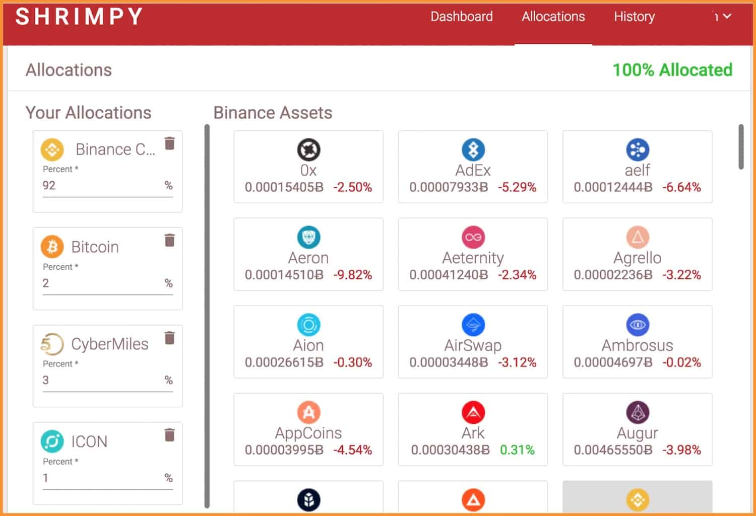 crypto asset allocation