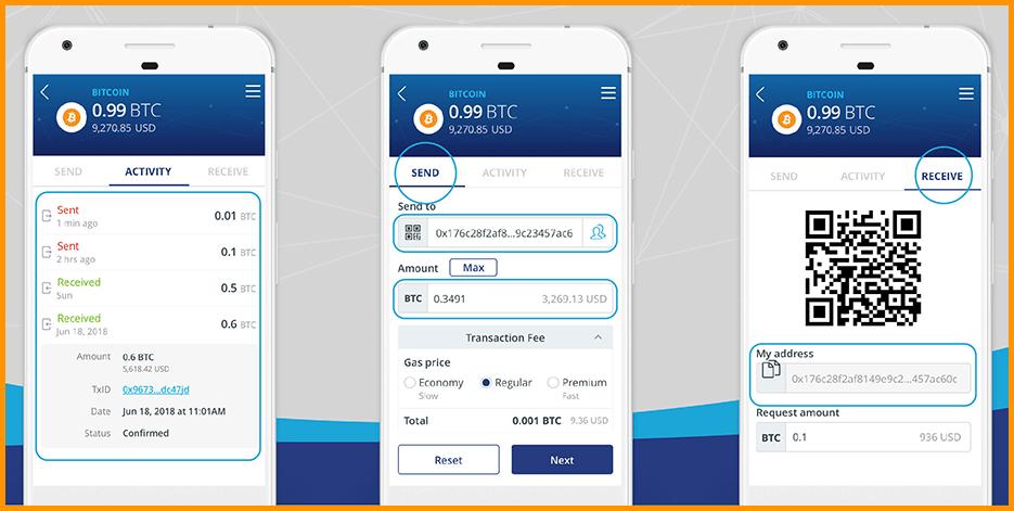 Infinito Wallet UI