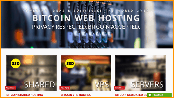 Bitcoin Web Hosting Payment