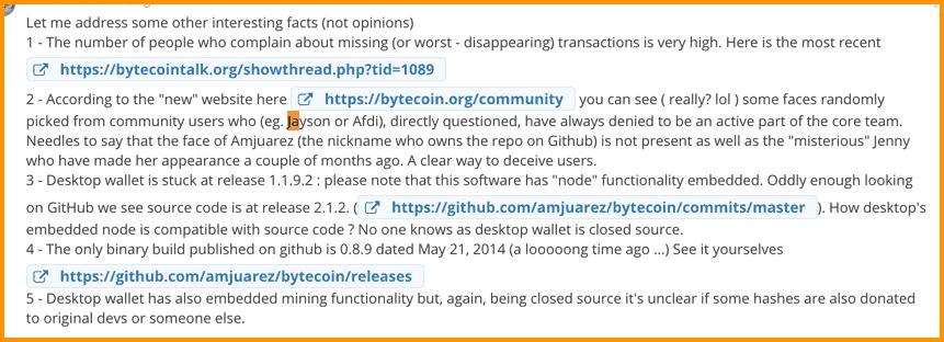 CryptoCompare Bytecoin