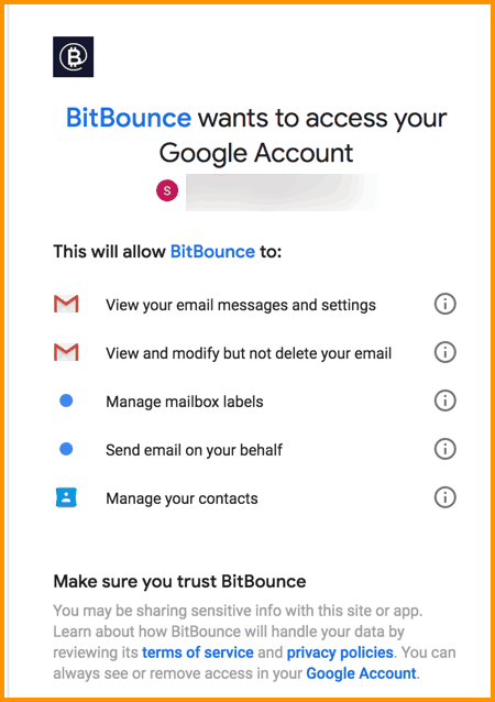 Get Started With BitBounce