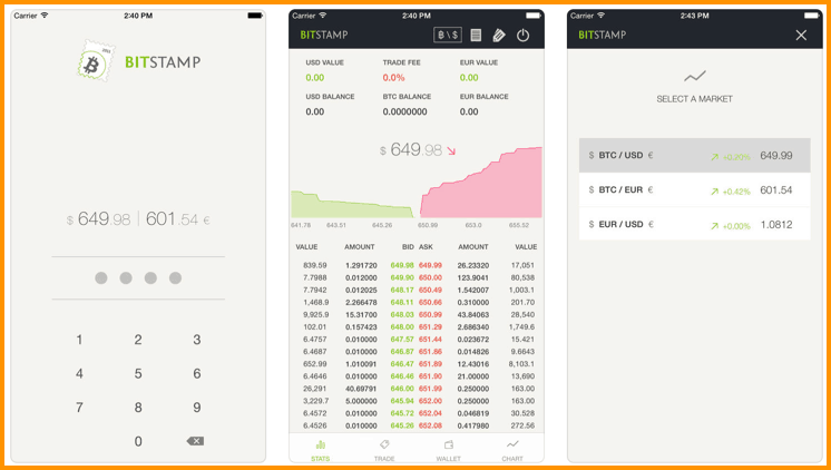 Download Bitstamp iOS App