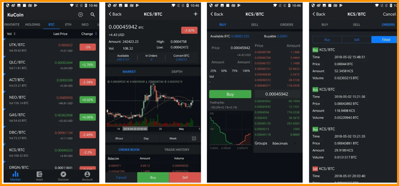 KuCoin Mobile Apps