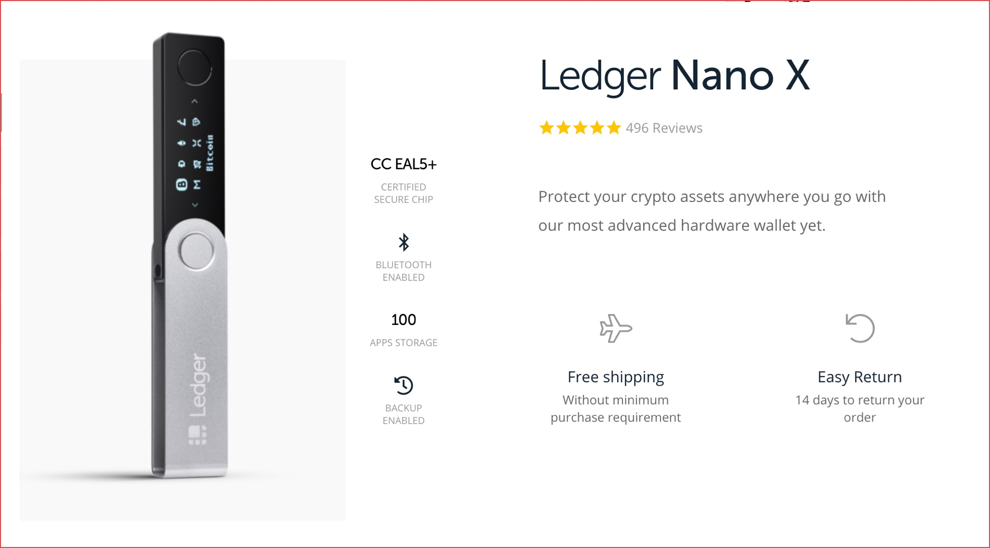 frys ledger nano s cryptocurrency hardware wallet