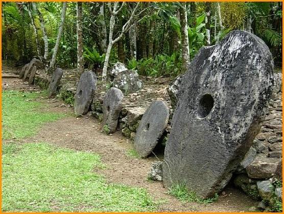 Rai Stones In Yap
