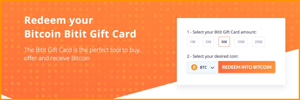 Bitit Giftcard
